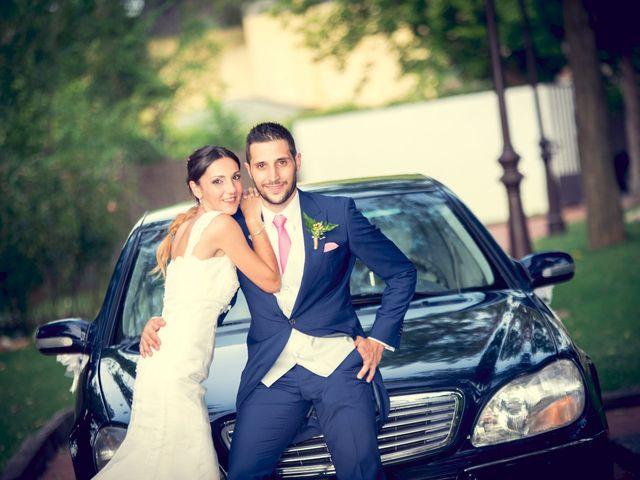 La boda de Daniel y Cristina  en Gurugu, Madrid 1