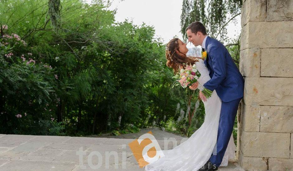 La boda de Cristian y Xènia en L' Hospitalet De Llobregat, Barcelona