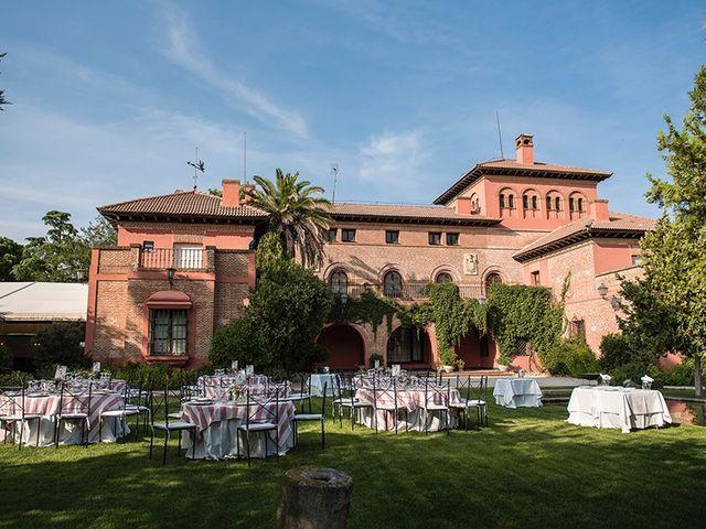 La boda de Enrique y Raquel en Fresno De Torote, Madrid 1