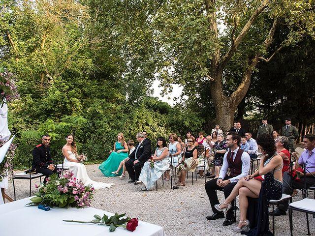 La boda de Enrique y Raquel en Fresno De Torote, Madrid 10