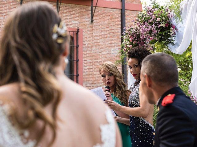 La boda de Enrique y Raquel en Fresno De Torote, Madrid 12