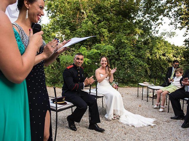 La boda de Enrique y Raquel en Fresno De Torote, Madrid 13
