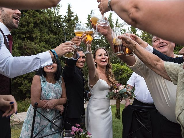 La boda de Enrique y Raquel en Fresno De Torote, Madrid 33