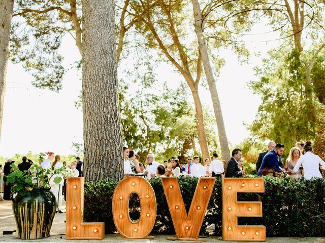 La boda de Rubén y Sheila en Massarrojos, Valencia 1