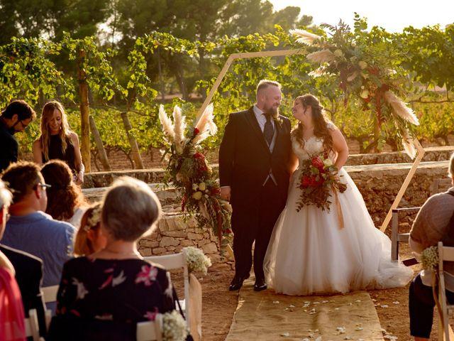 La boda de Kevin  y Sheila en Sant Vicenç De Calders, Tarragona 24