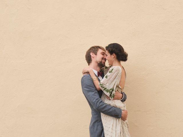 La boda de Alba y Frederick