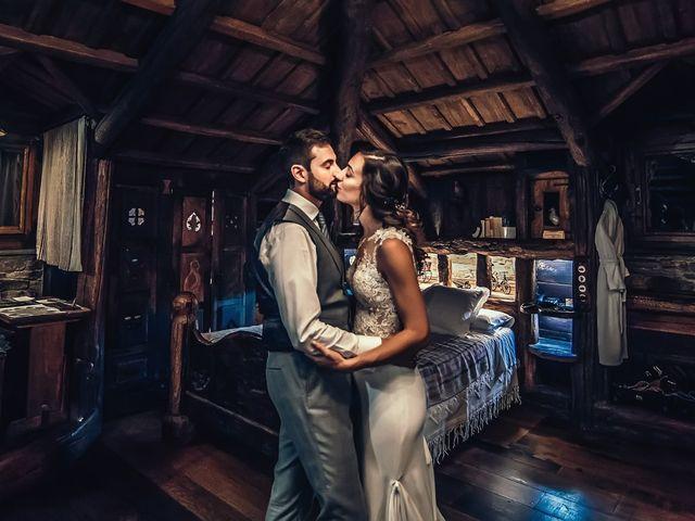 La boda de Fernando y Carla en Canedo, León 84