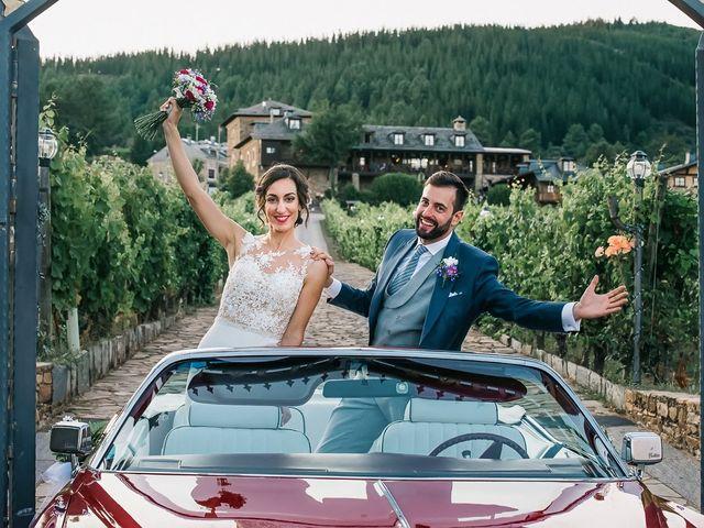 La boda de Fernando y Carla en Canedo, León 60