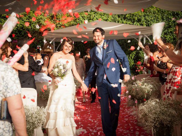 La boda de Carlos y Monica