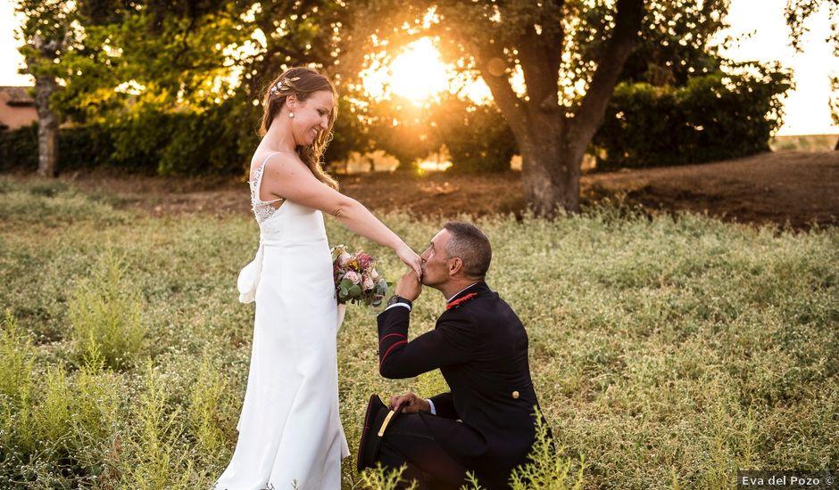 La boda de Enrique y Raquel en Fresno De Torote, Madrid