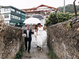 La boda de Elena  y Gotzon  2