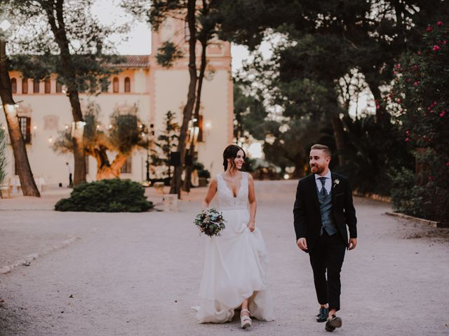 La boda de Andrea y Alberto en Riba-roja De Túria, Valencia 41