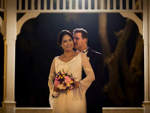 La boda de Analí y Christophe