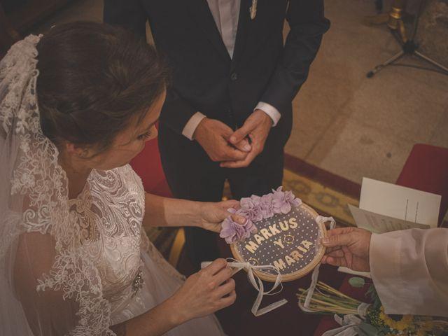 La boda de Markus y María en Mérida, Badajoz 37