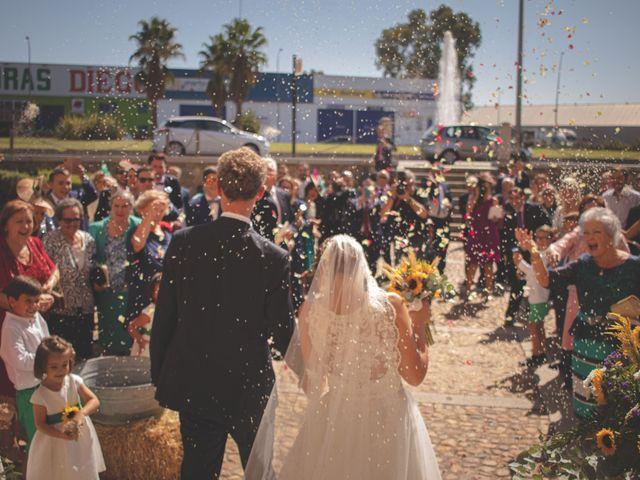La boda de Markus y María en Mérida, Badajoz 43