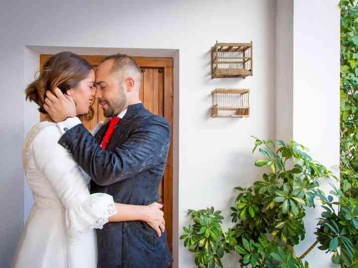 La boda de Azahara y Juan