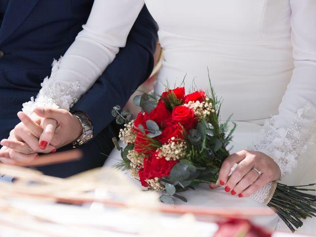 La boda de Jose Andrés y Triana en Los Palacios Y Villafranca, Sevilla 37