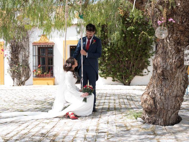 La boda de Jose Andrés y Triana en Los Palacios Y Villafranca, Sevilla 44