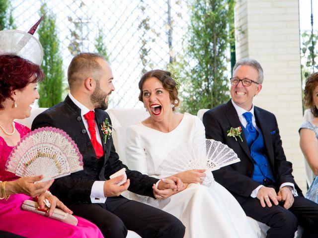 La boda de Juan y Azahara en Mota Del Cuervo, Cuenca 26