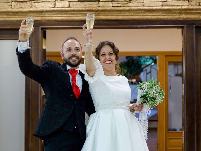 La boda de Juan y Azahara en Mota Del Cuervo, Cuenca 35