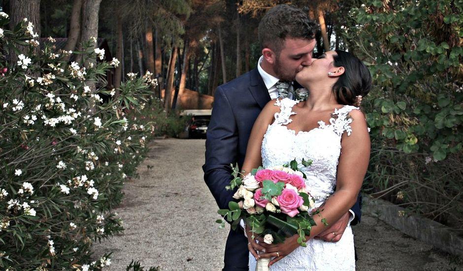 La boda de Marc y Andrea  en Sax, Alicante