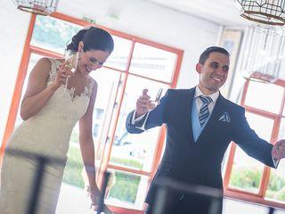 La boda de Belen y Cañete