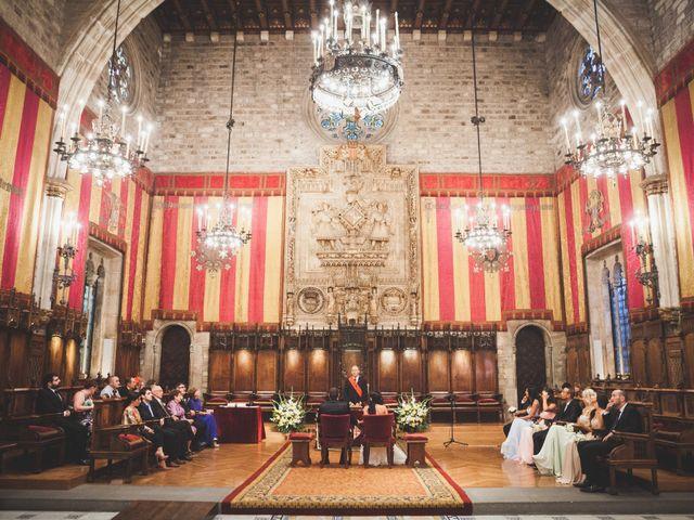 La boda de Julio y Melissa en Sant Vicenç De Montalt, Barcelona 20
