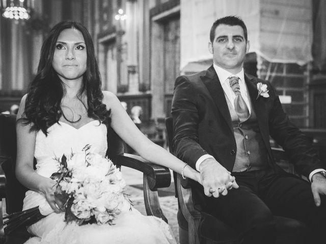 La boda de Julio y Melissa en Sant Vicenç De Montalt, Barcelona 22