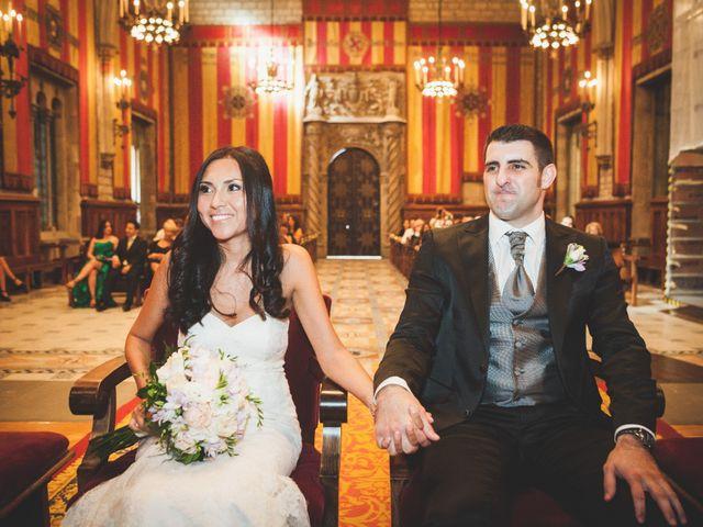 La boda de Julio y Melissa en Sant Vicenç De Montalt, Barcelona 26