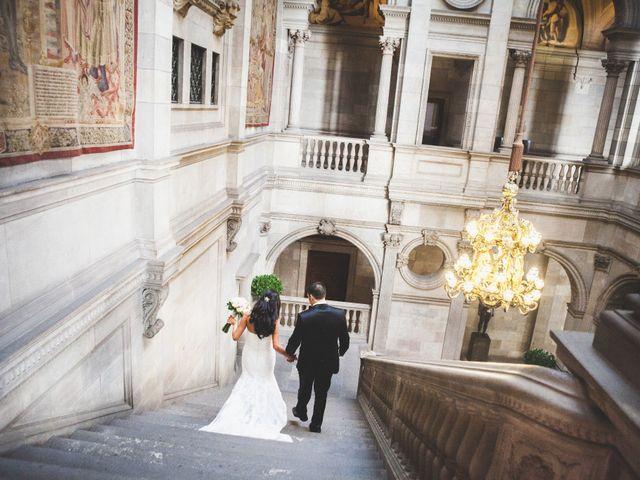 La boda de Julio y Melissa en Sant Vicenç De Montalt, Barcelona 31