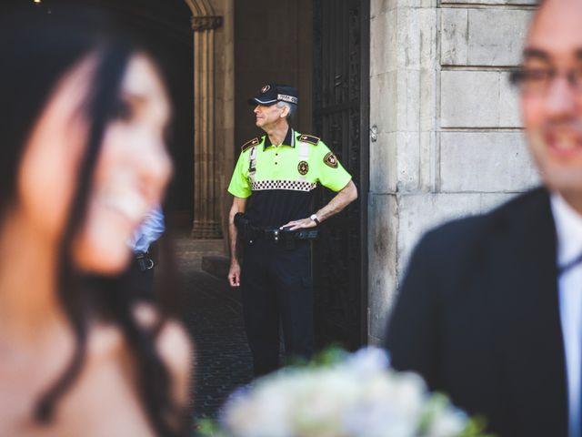 La boda de Julio y Melissa en Sant Vicenç De Montalt, Barcelona 34