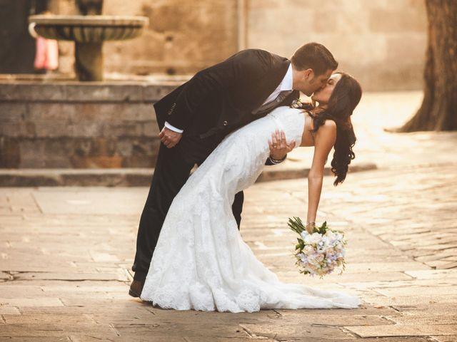 La boda de Julio y Melissa en Sant Vicenç De Montalt, Barcelona 37