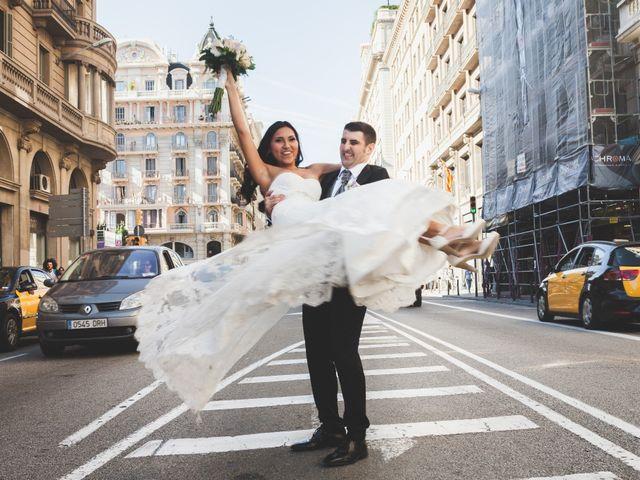 La boda de Julio y Melissa en Sant Vicenç De Montalt, Barcelona 40