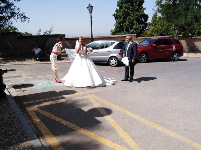 La boda de Juan   y Alba  en Granada, Granada 10