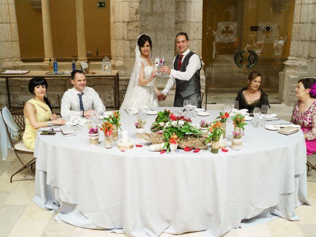 La boda de Rubén y Isabel en Burgos, Burgos 80