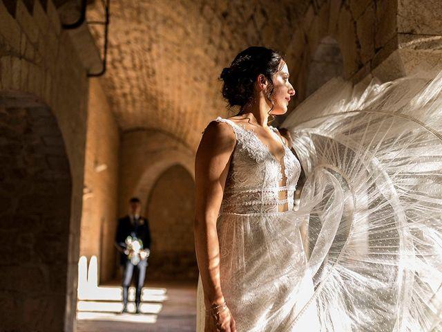 La boda de Daniel y Lidia en Vilademuls, Girona 1