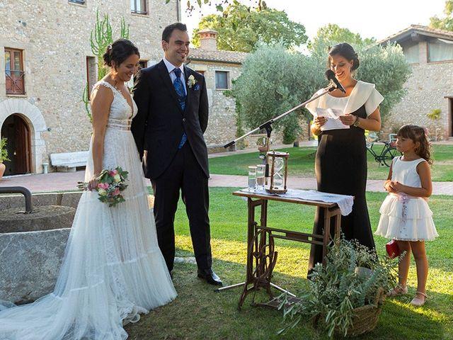 La boda de Daniel y Lidia en Vilademuls, Girona 28