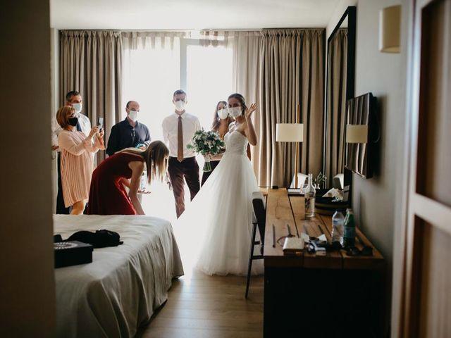 La boda de Albert y Elisabet en Girona, Girona 21