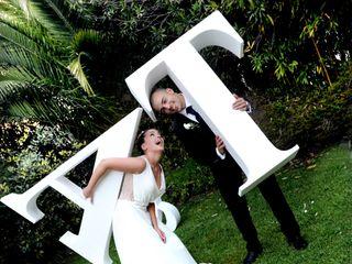 La boda de Tania y Aaron 1