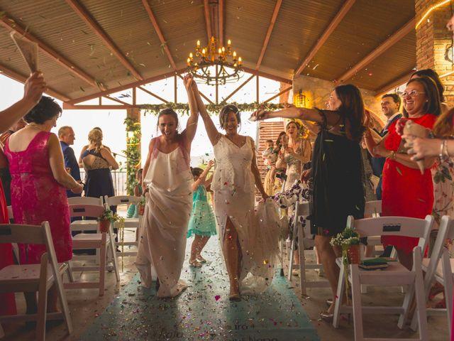 La boda de Mónica y Sara en Pegalajar, Jaén 35