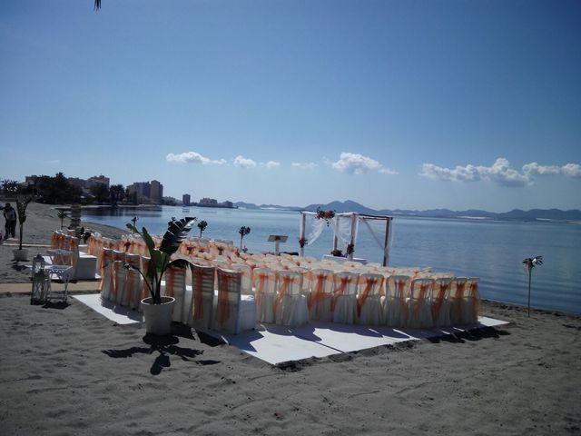 La boda de Antonio  y Carolina en La Manga Del Mar Menor, Murcia 6