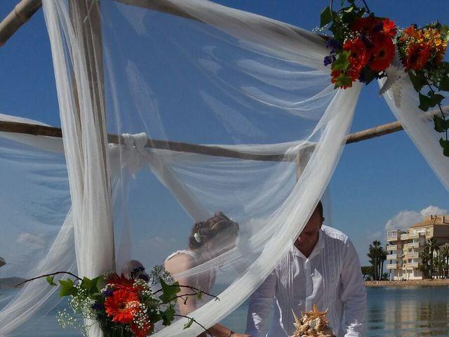 La boda de Antonio  y Carolina en La Manga Del Mar Menor, Murcia 8