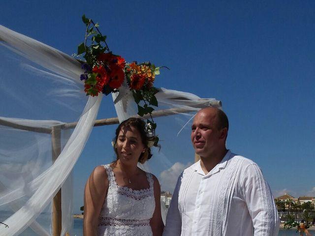 La boda de Antonio  y Carolina en La Manga Del Mar Menor, Murcia 1