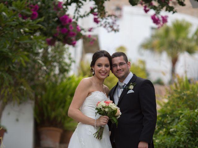 La boda de Chema y Noelia en Salobreña, Granada 38