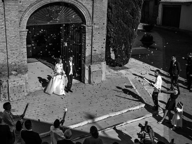 La boda de Gullermo y Sheila en Alfajarin, Zaragoza 33