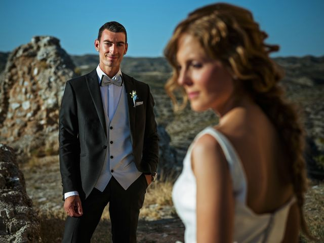 La boda de Gullermo y Sheila en Alfajarin, Zaragoza 36