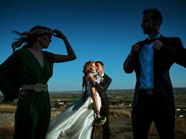 La boda de Gullermo y Sheila en Alfajarin, Zaragoza 37