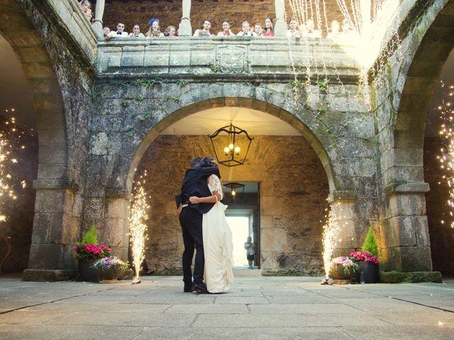La boda de Daniel y Tatiana en San Tirso (Mens), A Coruña 19