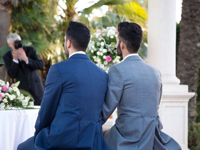 La boda de Julio y David en El Puig, Valencia 22