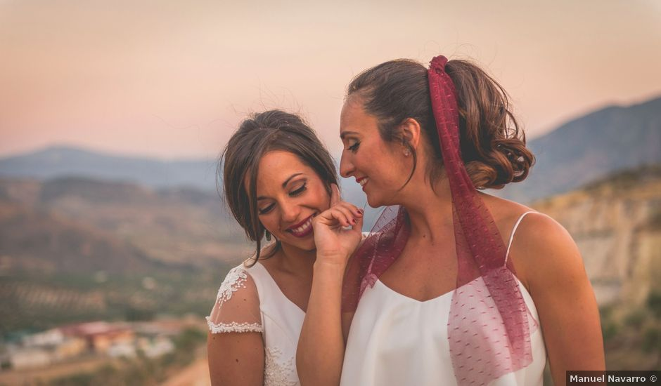 La boda de Mónica y Sara en Pegalajar, Jaén